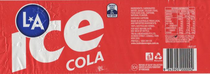 LA Ice Cole -- Caffeine